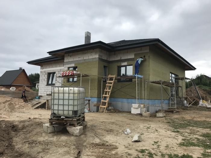Строим дом быстрее чем за 90 дней Строительство дома, Загородный дом
