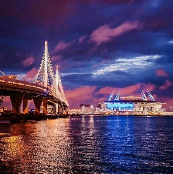 #3 Красоты Питера Санкт-Петербург, Залив, Облака, Стадион Зенит