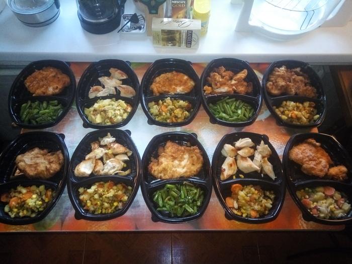 Заготавливаем еду на месяц вперед Кулинария, Мужская кулинария, Заготовки, Мясо, Курица, Рецепт, Гифка, Длиннопост, Еда