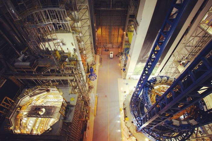 Оснастка для окончательной сборки водородных и кислородных баков SLS. NASA, SLS, Ракета-Носитель, Космос