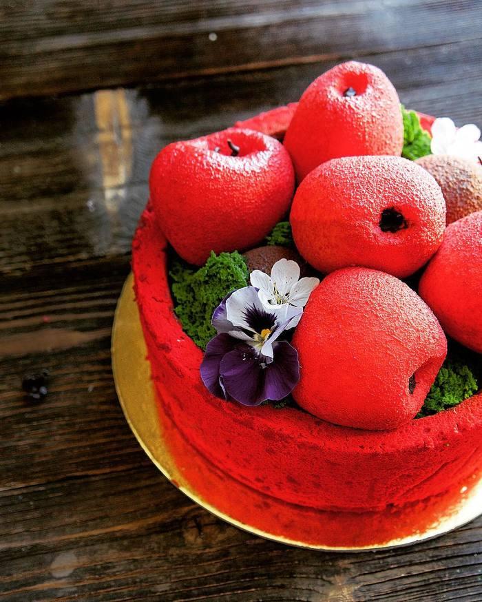 Красивые торты, просто произведение искусства Торт, Еда, Вкусно, Красота, Искусство, Арт, Кулинария, Длиннопост
