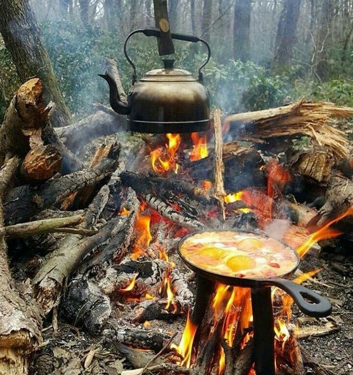 Утро начинается с омлета