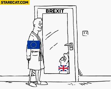 Как Британия выходит из ЕС.