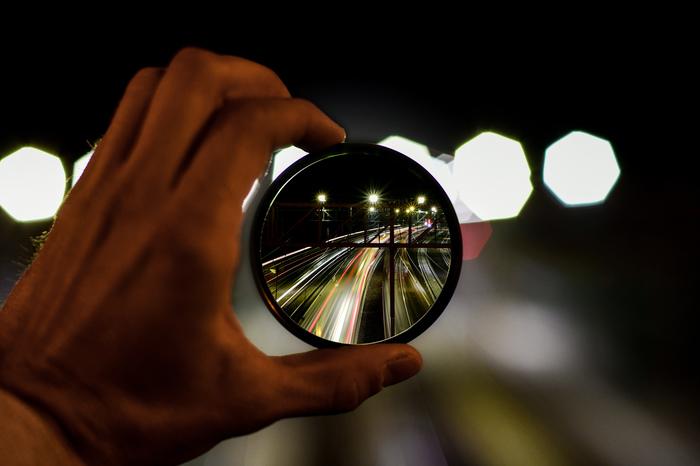 Взгляд через UV фильтр Коллаж, Photoshop, Long exposure, Выдержка, Длиннопост