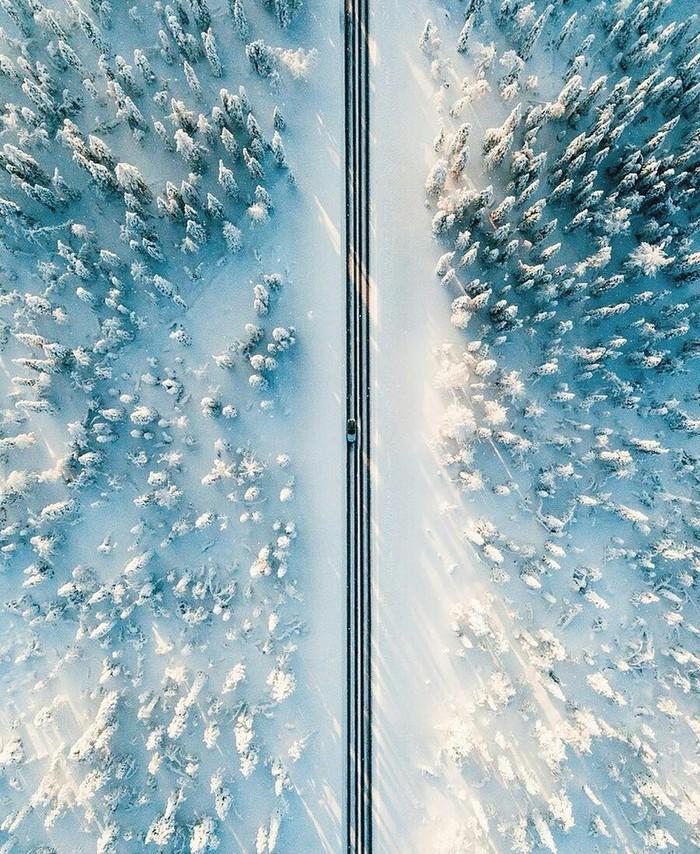 Зимняя Финляндия.