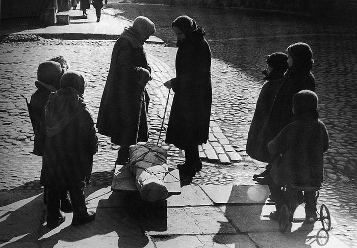 «Страшные были дни» Великая Отечественная война, Блокада Ленинграда, Длиннопост
