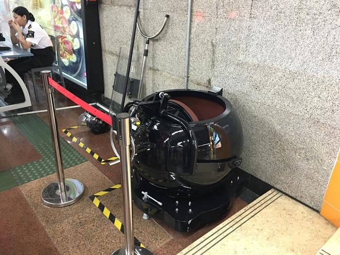 Антитеррористические устройства в метро Китая Китай, Китай наизнанку, Терроризм, Метро, Длиннопост