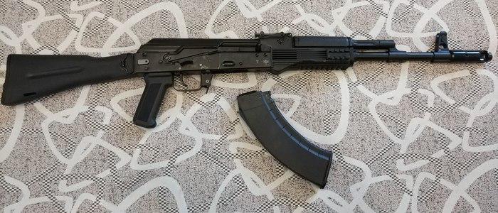 Мой небольшой арсенал + немного тюнинга Вепрь, Калашников, Помповое ружье, Дробовик, 366ткм, 12 калибр, Tg2, Длиннопост