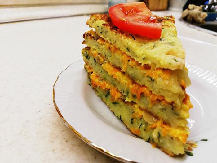 Кабачковый торт. Вкусная закуска из кабачков. Еда, Кулинария, Рецепт, Приготовление, Кабачок, Закуска, Вкусно, Торт, Видео, Длиннопост