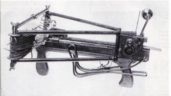 Специальный боевой арбалет Big John 5 (США) Арбалет, Оружие, Стрела, Специальное оружие, Длиннопост, Big Joe 5