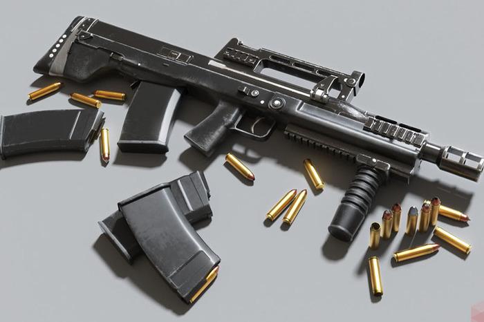 Штурмовая винтовка АШ-12 Оружие, Русское оружие, Россия, Армия, ФСБ, Видео, Длиннопост