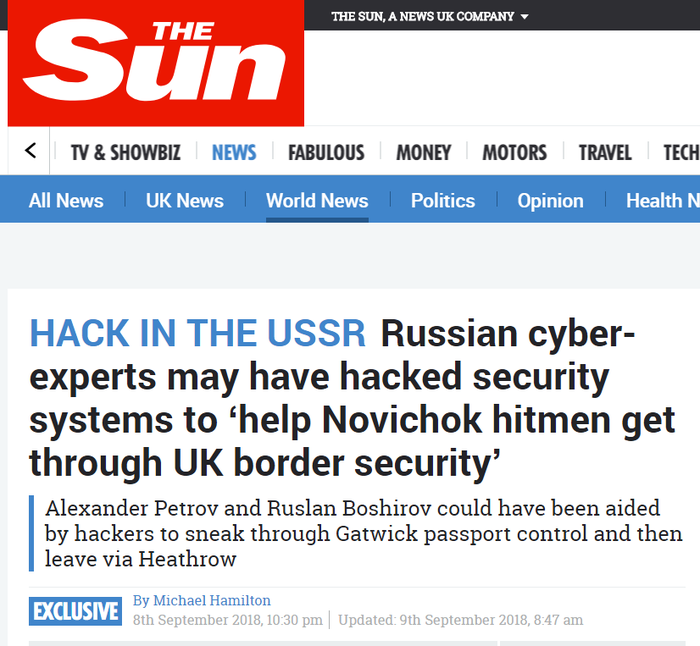 С высокой долей вероятности вполне возможно всё указывает на это.... Россия, Великобритания, Скрипали, Новичок, Русские хакеры, Скриншот, Хайли лайкли, Политика