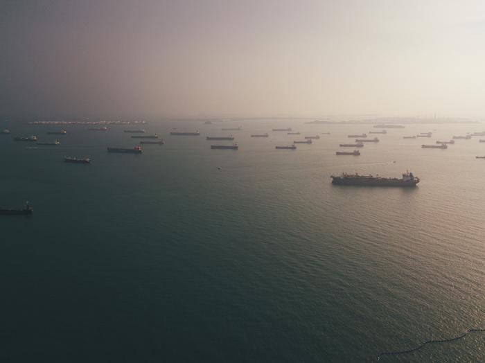 Сингапур, остров Sentosa Сингапур, Азия, Фотография, Пейзаж, Остров, Пляж, Лето, Дрон, Длиннопост