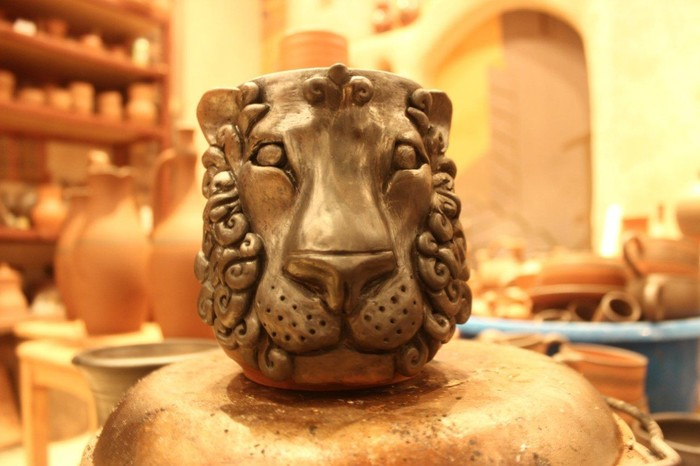 Мои львы Гончарное дело, Ручная работа, Своими руками, Длиннопост