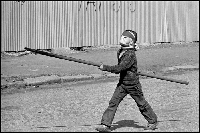 Ирландские несовершеннолетние протестующие . Ирландия, Дети, Протест, Фотография, 60-е, 70-е, Длиннопост