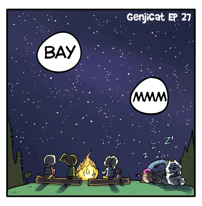 GenjiCat 27 Комиксы, The Pigeon Gazette, GenjiCat, Overwatch, Mercy, Lucio, Ana Amari, Junkrat, Длиннопост