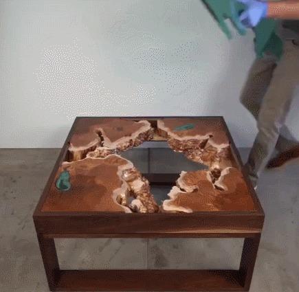 Стекло для кофейного столика