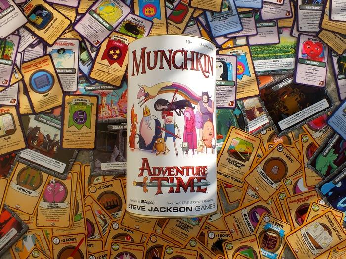 Манчкин Время Приключений Adventure time, Настольные игры, Pnp, Своими руками, Манчкин, Длиннопост