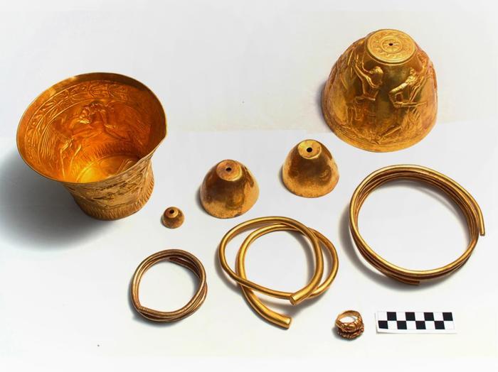 Блеск золота с оттенком конопли. Уникальные находки из могильника Сенгилеевское-2. Длиннопост, Археология, Скифы, Ставрополье