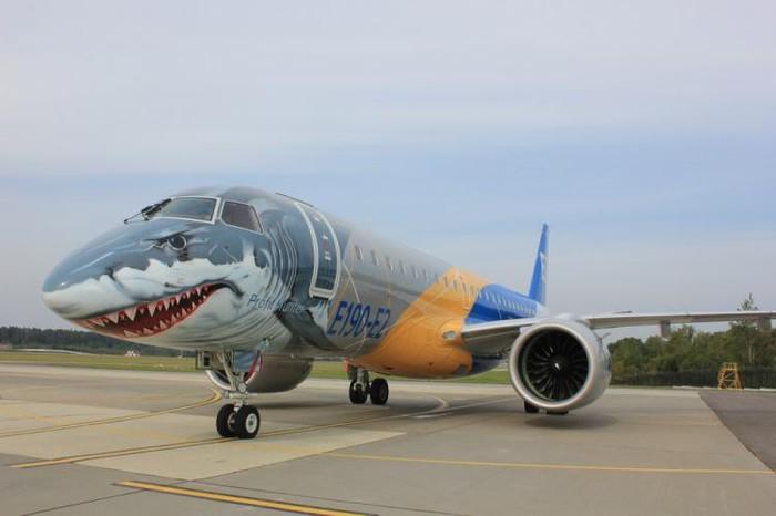 Эффектная акула Авиация, Самолет, Акула, Длиннопост