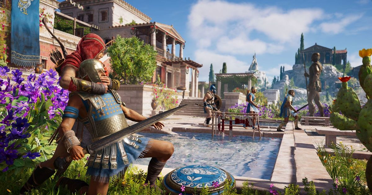 multiplayer assassins creed odyssey - HD3840×2160