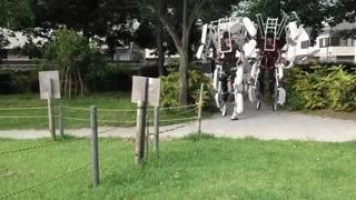Обычные пешеходы в Японии