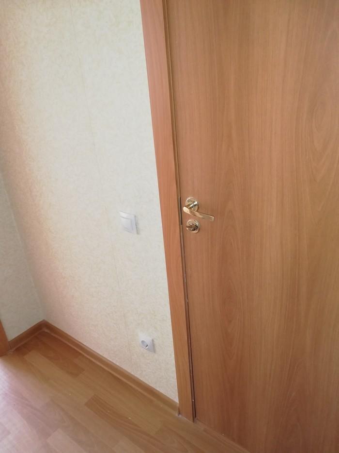 Дверь в туалет Строительство, Джамшут, Новостройка, Удобства, Логика