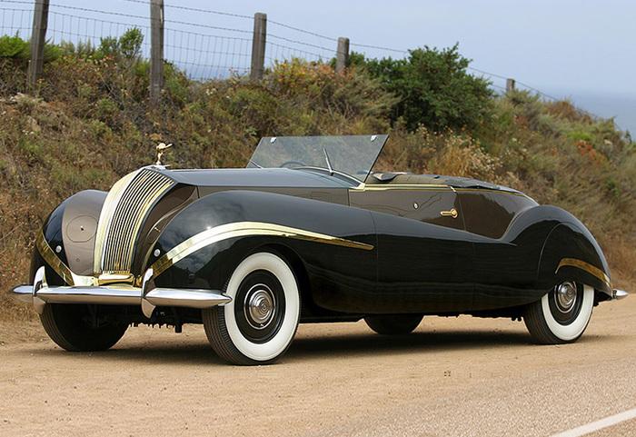 Rolls-Royce Phantom III Labourdette Vutotal Cabriolet Rolls-Royce, Классика, Длиннопост