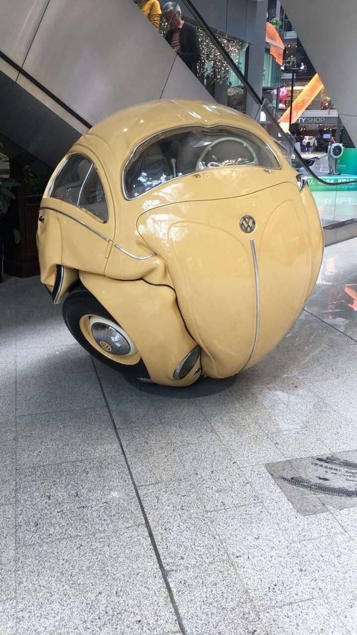 Колобок-машина. Volkswagen Beetle.
