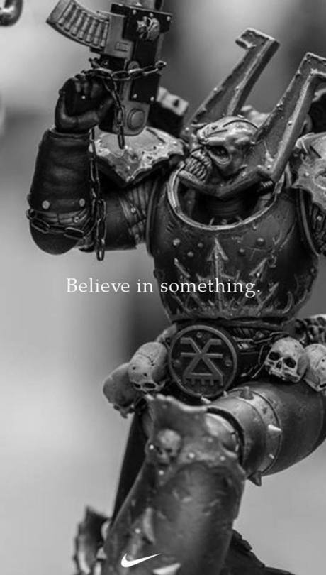 Верь во что-нибудь. Warhammer 40k, Roboute Guilliman, Chaos space marines, Wh humor, Длиннопост
