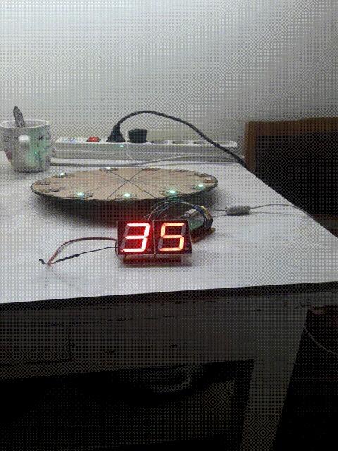 Как я часы решил сделать и не доделал... Arduino, Часы, Самоделки, Программирование, Гифка, Длиннопост