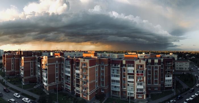 Надвигающийся дождь Фотография, Облака, Дождь