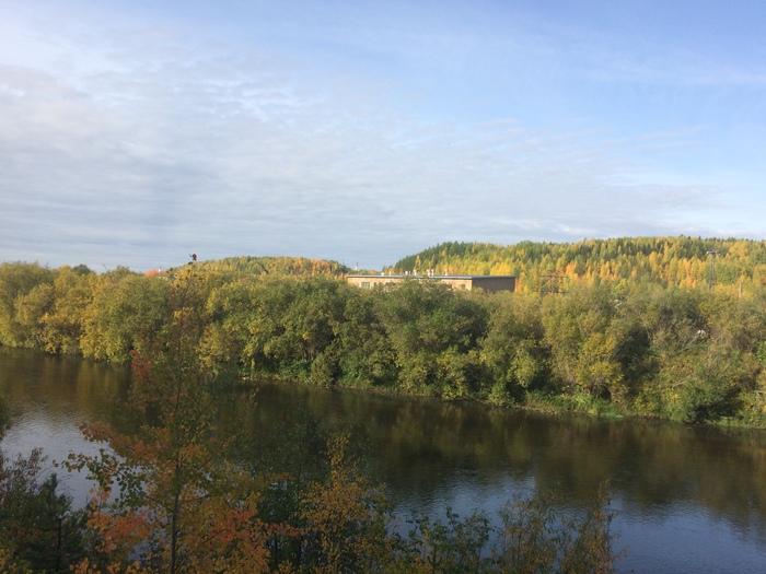 Осень пришла на Северную Ж.Д. Осень, Красота природы, Железная Дорога, Длиннопост
