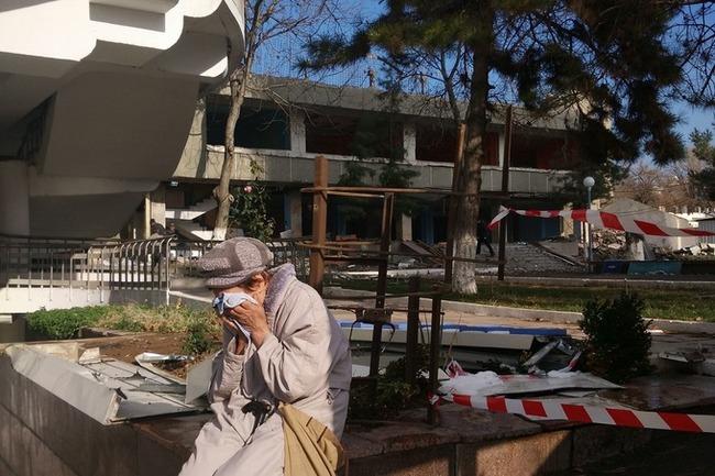 Видео. Жители вышли на митинг против сноса их домов в одном из районов Ташкента Узбекистан, Ташкент, Митинг, Протест, Народ, Строительство, Снос, Видео, Длиннопост