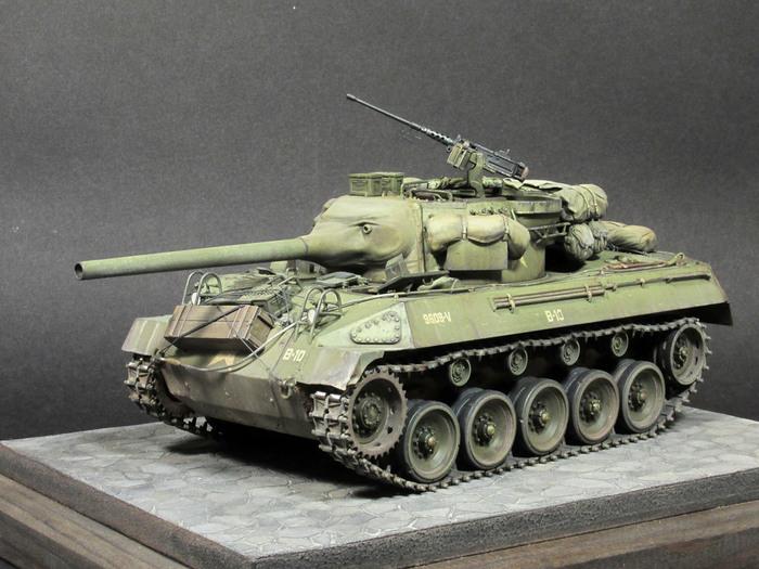 Истребитель танков M18 Hellcat (Academy 1/35) Моделизм, Стендовый моделизм, Моё, Длиннопост