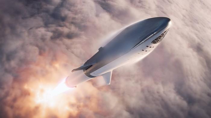 Новые изображения BFR от SpaceX Spacex, Космос, BFR, Длиннопост