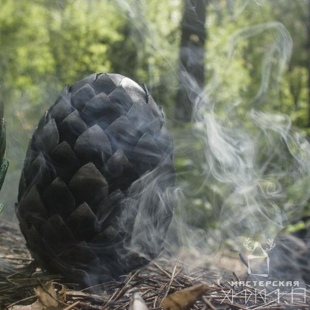 """Интерьерное украшение """"Яйцо дракона"""" Яйца дракона, Arthiz, Яйцо, Своими руками, Лес, Рукоделие без процесса, Длиннопост"""