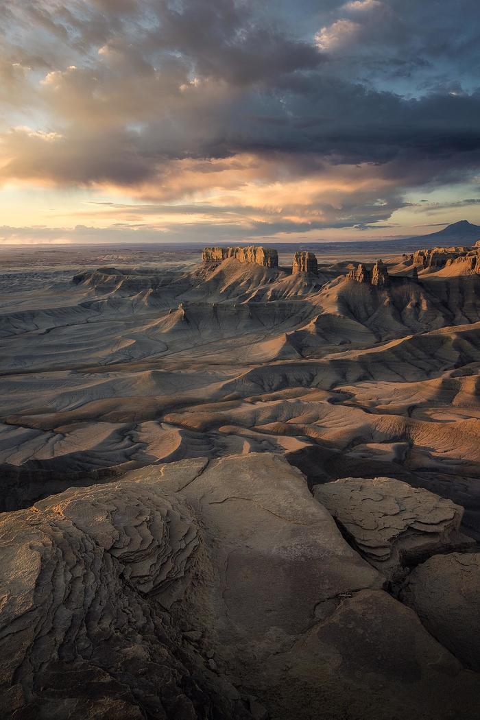 Утро в Бесплодных землях Юта, США, Ландшафт, Фотография