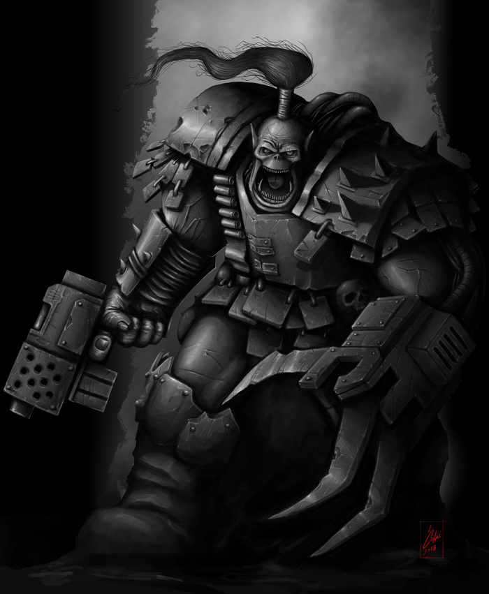 Орк Warhammer 40k, Wh art, Орки