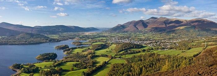 Lake District - озерный край Англии Англия, Великобритания, Путешествия, Отдых, Отпуск, Горы, Зелень, Парк, Видео, Длиннопост