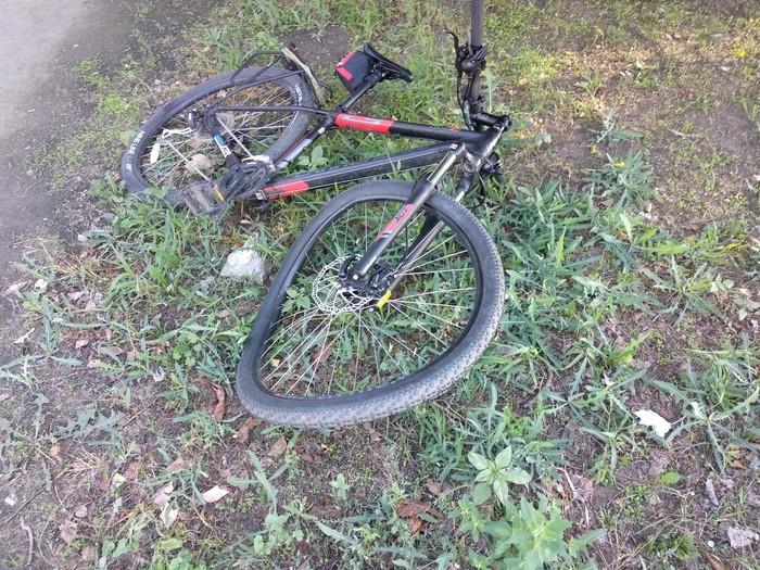Стоило немного утратить бдительность и вот Велосипед, Яма, Травма, Длиннопост