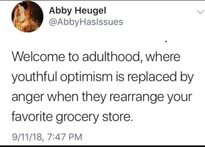 Взрослая жизнь Взрослые, Взросление, Супермаркет, Twitter