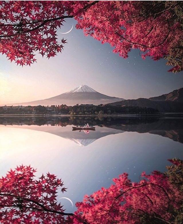 Вулкан Фудзияма  на острове Хонсю