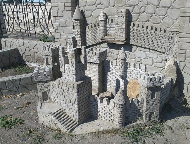 Миниатюрный Замок Замок, Миниатюрный, Ландшафтный дизайн