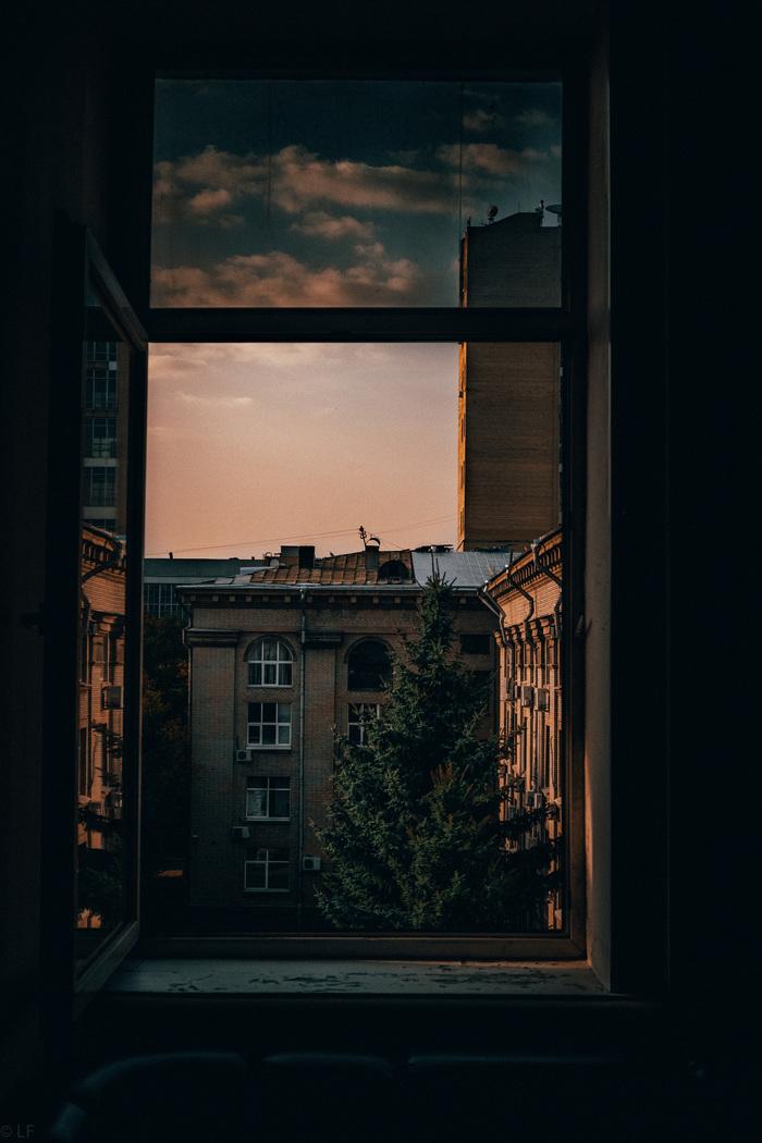 Почти вечер в пятом часу МАИ, Начинающий фотограф, Вечер, День