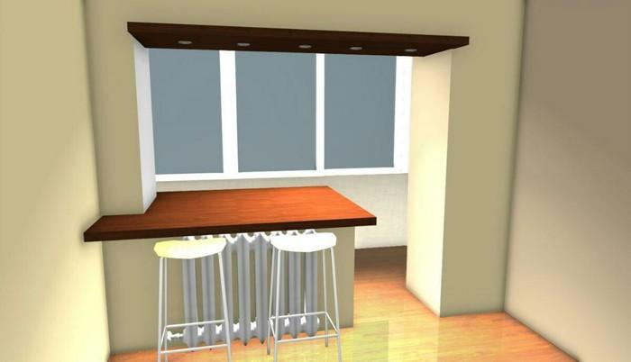 Балконный бар Строительство, Балкон, Ремонт