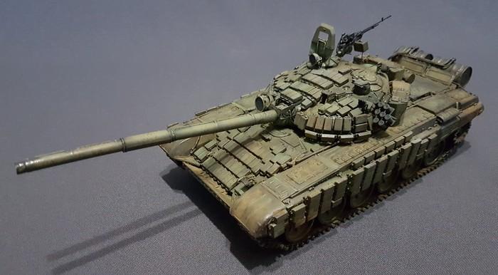 Т-72Б1,MENG, 1/35 Стендовый моделизм, т-72, 1:35, Длиннопост, Meng