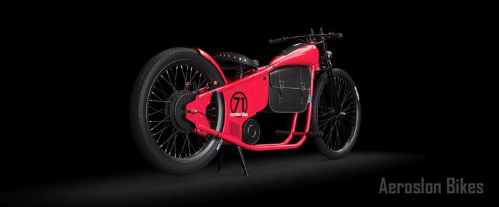 Aeroslon Bikes HD 1975 Custombike, Homeinthewoods, Aeroslonbike, Aeroslonshop, Electricbike, Kustomkulture, Electricbicycle
