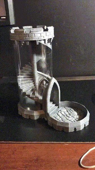 Башня для игральных костей Reddit, Башня, Игральные кости, Необычное, Настольные игры, Гифка