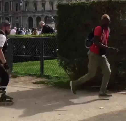 Судя по всему, это не самое эффективное подразделение французской полиции
